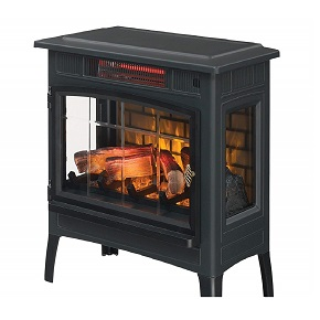 Duraflame infrared quartz fireplace