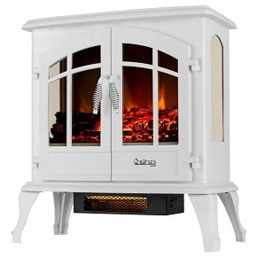 E Flame Free Standing Electric Fireplace