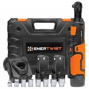 Enertwist Cordless Electric Ratchet Wrench Set