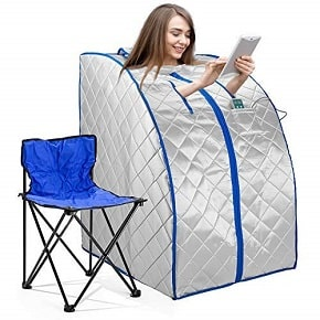 Far infrared portable sauna