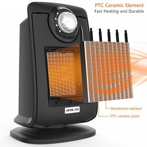 OPOLAR Space Ceramic Bathroom Heater