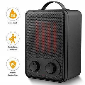 Portable Space Heater-1500 Watt