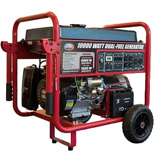 All Power America 10000 Watt Dual Fuel Generator for home