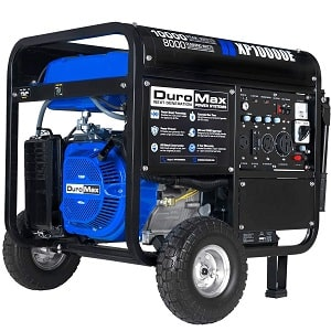 DuroMax XP10000E Gas Powered Portable Generator for home