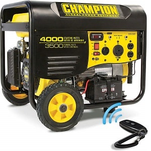 champion 3500 watt generator for home or rv