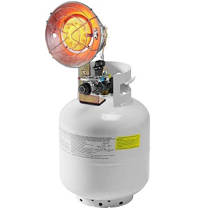 COSTWAY 15,000 BTU Propane Tank Top Heater