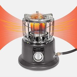Campy Gear 2 in 1 Portable Propane Heater