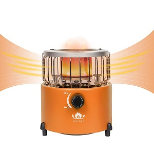 Campy Gear 2 in 1 Portable Propane Heaters