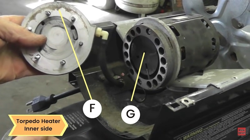 Cleaning Air Pump Rotor