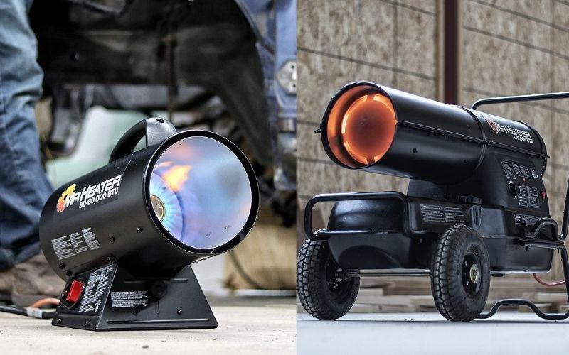 Propane vs. Kerosene Forced Air Heaters