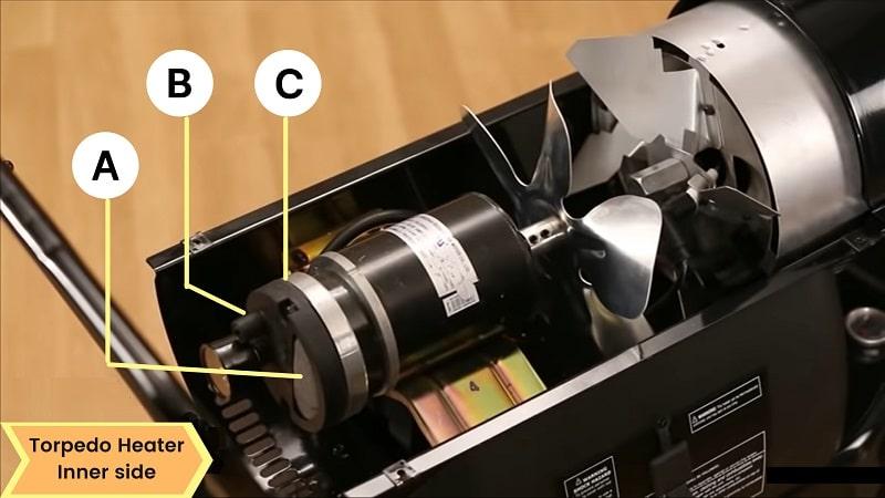 torpedo heater inner side