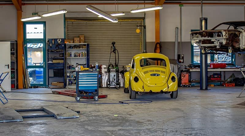 High Efficiency Natural Gas Garage Heater
